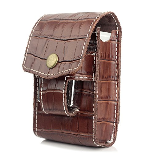 XIFEI(TM) multi-function leather cigarette case men s Waist Bag for holder Cigarettes and lighters