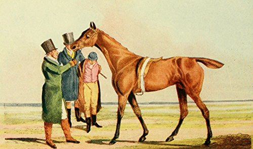 Posterazzi National Sports of GB 1903 Race horse Poster Print by Henry Alken (18 x 24)