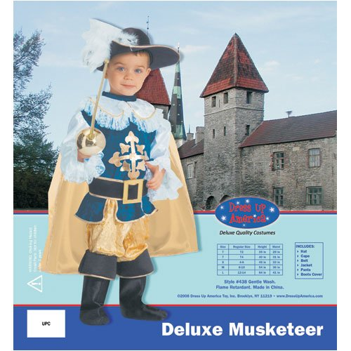 Deluxe Musketeer - Toddler T4