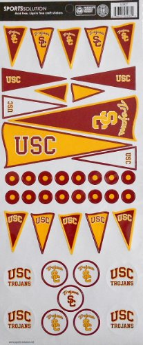 - Sports Solution USC Trojans Pennant Stickers