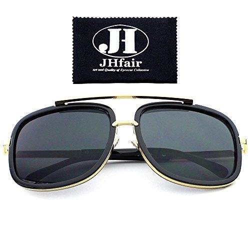 Sunglasses Women Aviator Sun Glasses Brand Design (Grey) - 1