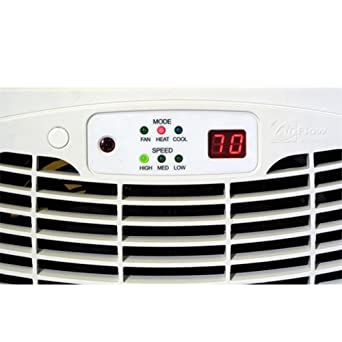 """Air Flow Breeze ULTRA with Remote Control (Almond) (2.625""""H x 13.875""""W x 7.625""""D)"""
