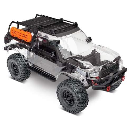 (Traxxas 82010-4 TRX-4 Sport Unassembled Kit Includes: Pre-Cut Clear TRX-4 Sport)