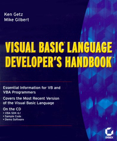 Visual Basic Language Developer's Handbook by Brand: Sybex Inc