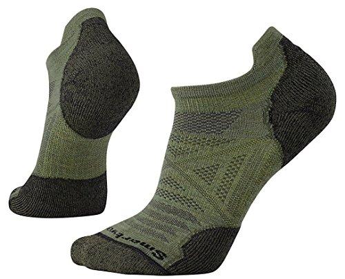 Smartwool Men's PhD Outdoor Light Micro Socks (Light Loden) Medium (Wool Loden Green)