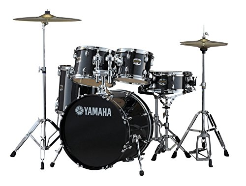 yamaha-gig-maker-gm0f56blg-5-piece-drum-set-black-glitter