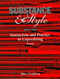 Substance and Style : Instruction and Practice in Copyediting, Stoughton, Mary, 0935012184
