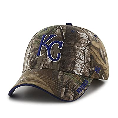 Kansas City Royals Realtree Frost Cleanup Adjustable Hat from Twins '47