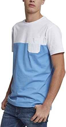 Mens Color Block Summer Pocket Tee T-Shirt Urban Classic Cheap Sale Sast Online Cheap Authentic Cheap Sale Purchase ivix2