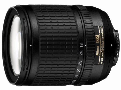 Nikon 18-135mm f/3.5-5.6G ED-IF AF-S DX Zoom-Nikkor Lens for Nikon Digital SLR Cameras - White Box(Bulk Packaging) (Best Lens For Nikon D3100 For Landscape)
