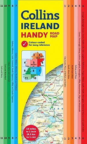 Handy Map of Ireland (Collins Handy Road Map)