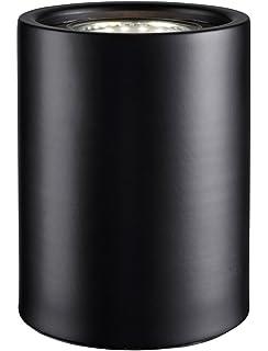 Modern Small Matt Black LED Table, Floor Lamp Uplighter with ...