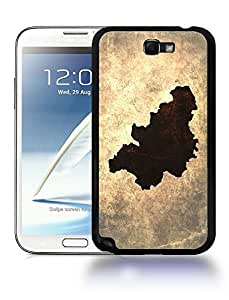 Belgium National Vintage Country Landscape Atlas Map Phone Designs For SamSung Galaxy S3 Case Cover