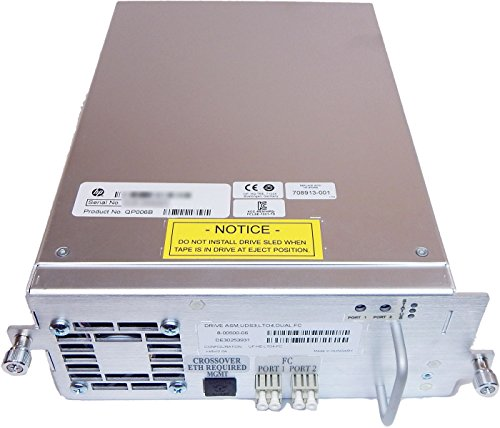 HP ESL G3 4GB LTO-4 Dual FC 1840 Tape Drive 708913-001 QP006B by HP