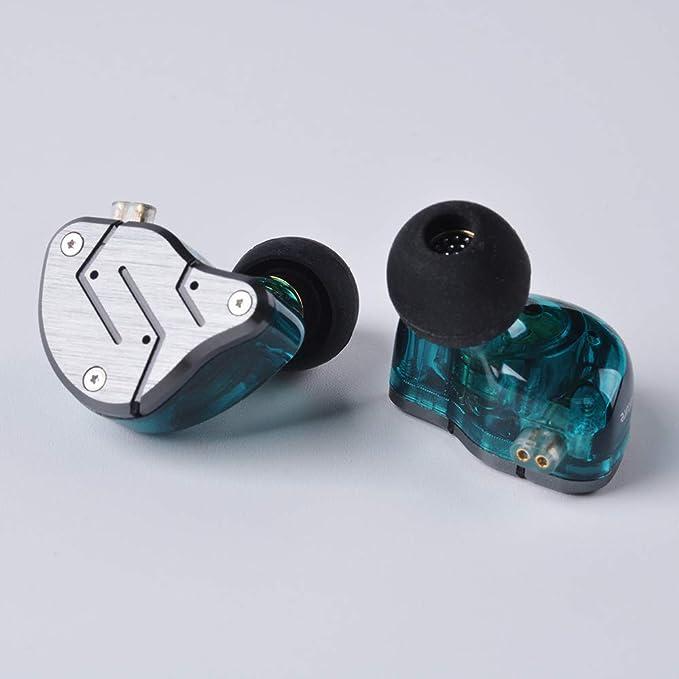 Yinyoo KZ ZSN Auriculares duales con Auricular Auriculares KZ 1BA ...