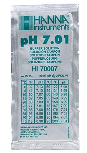20 ml - pH 7.01 - Buffer Solution - pH Calibration Solution - Hanna Instruments ()