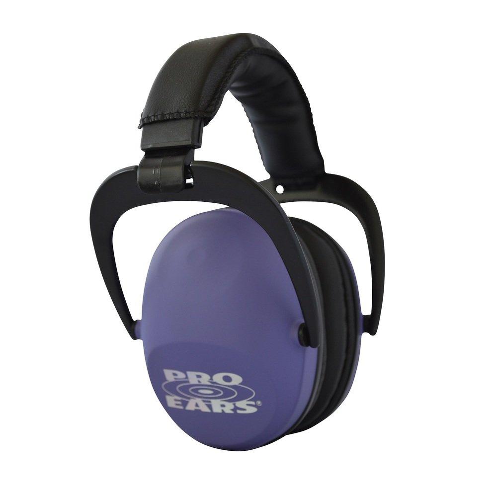 Pro Ears - Ultra Sleek -  Hearing Protection - NRR 26-Ear Muffs - Purple by Pro Ears
