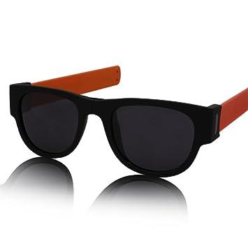 S2F5 Gafas - Gafas de Sol - Curvo Plegables - Gafas de Sol ...