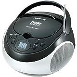 NAXA NPB252BK Portable CD/MP3 Players with AM/FM Stereo (Black) Computer, Electronics
