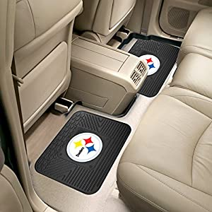 FANMATS 12302 NFL - Pittsburgh Steelers Utility Mat - 2 Piece by FANMATS