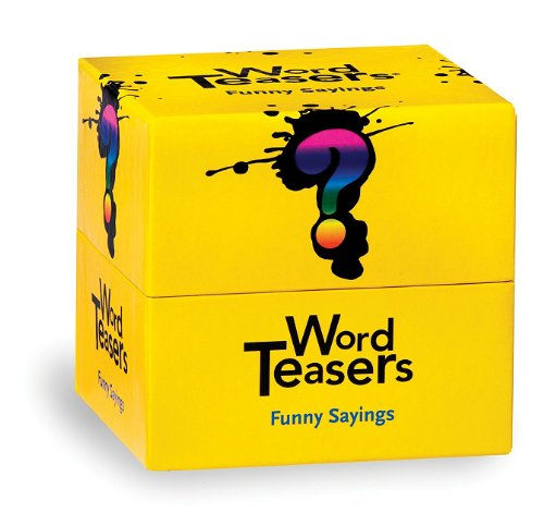 Wordteasers Flash Cards Funny Sayings (Words To Let It G)