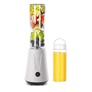 ... exprimidor Multifuncional casero Mini, exprimidor eléctrico de la Taza, Taza de Jugo fácil de Llevar (Color : Blanco, Tamaño : Double Cup): Amazon.es