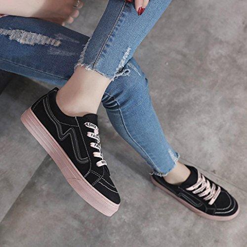 à Chaussures Chaussures Low Chaussures et respirantes femmes de Casual légères mode Femmes asse élégantes Vicgrey Sneakers la plates Xqw5IZWp