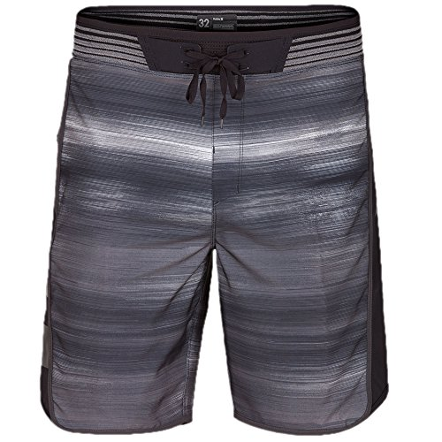 Hurley Men's Phantom Hyperweave Motion Fast Boardshorts, Black (00A), 32 by Hurley