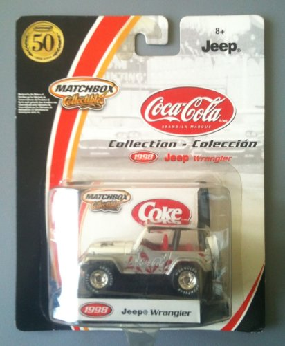 MATCHBOX COLLECTIBLES - 2002 Coca Cola Collection - 1998 Jeep Wrangler