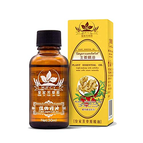 Dragon Honor 2019 New Plant Lymphatic Drainage Ginger Essential Oils (Essential Oils To Get Rid Of Moles)