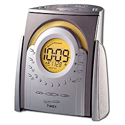 Timex Nature Sounds CD Clock Radio T621T
