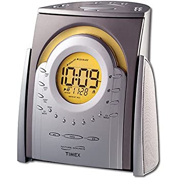 Amazon Com Timex Nature Sounds Cd Clock Radio T621t Home
