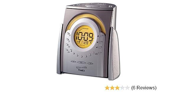 amazon com timex nature sounds cd clock radio t621t home kitchen rh amazon com Timex Alarm Clock Instruction Manuals Timex Watch Instruction Manual