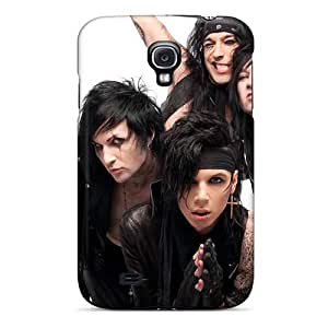 Scratch Protection Hard Cell-phone Cases For Samsung Galaxy S4 With Custom Vivid Black Veil Brides Band BVB Image RandileeStewart