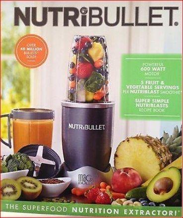 Nutribullet 8-piece Nutrition Extractor Blender Juicer, Nbr-8 Nutri Bulle