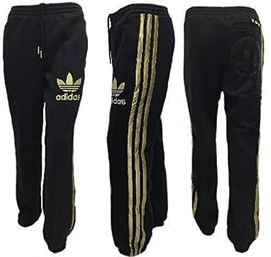 pantaloni neri adidas donna tuta