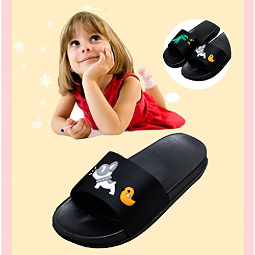 JACKSHIBO Boys Girls Slide Sandals, Outdoor Indoor Sandals Beach Water Flip Flop by JACKSHIBO (Image #3)