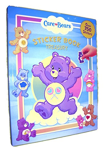 Care Bears Sticker Book Treasury (Over 350 Stickers) Large Format Book