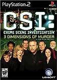 CSI: 3 Dimensions of Murder - PlayStation 2