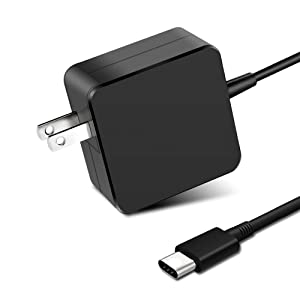 87W/90W USB C Power Adapter, WEGWANG Type C Power Delivery PD Wall Charger 87W(Compatible 61W, 45W, 30W and 12W) for MacBook Pro Air 2018, HP, Dell, Lenovo and Any Laptops or Smart Phones with USB C