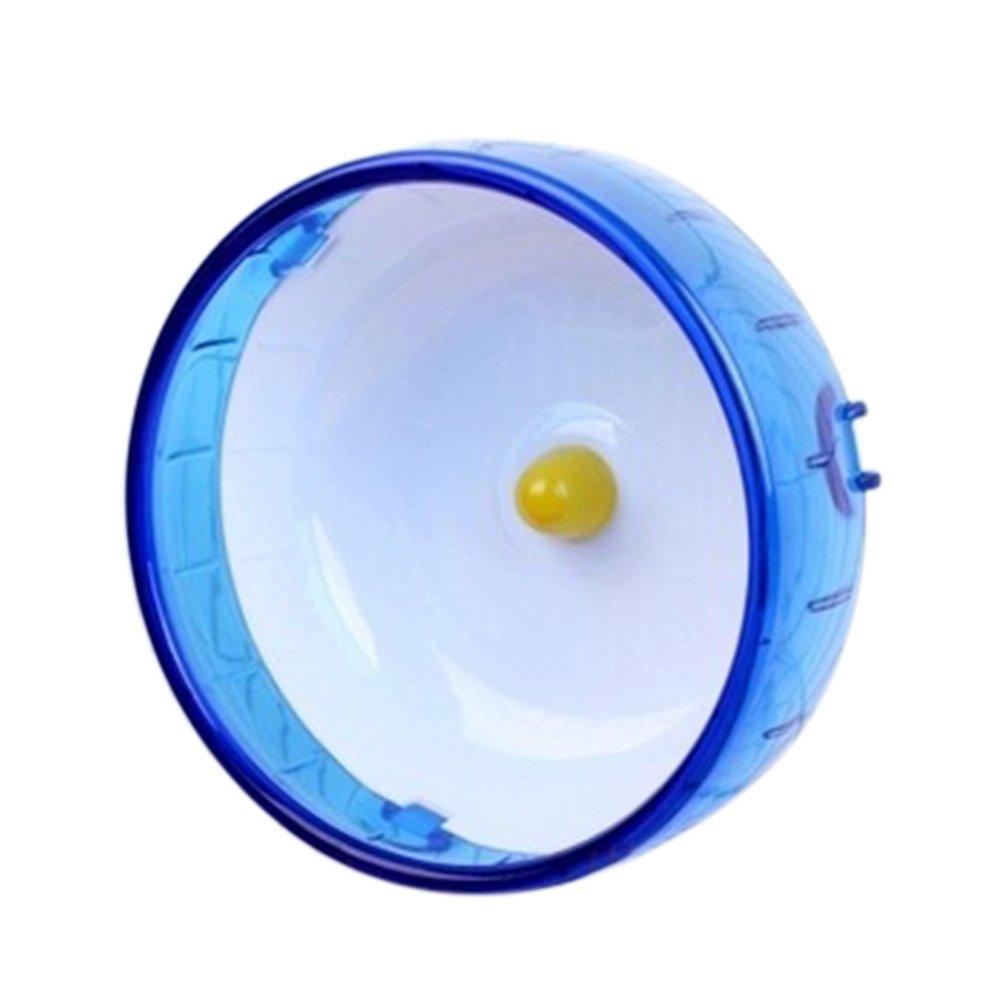 Roblue Roue de Roulement Ultra-silencieuse de Hamster Animaux Cool Roue en Plastique 12cm YEAH