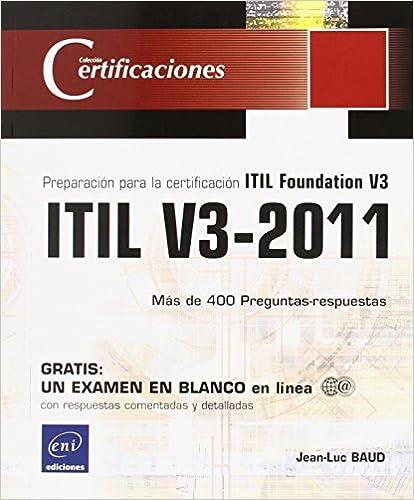 Libro sobre ITIL V3-2011
