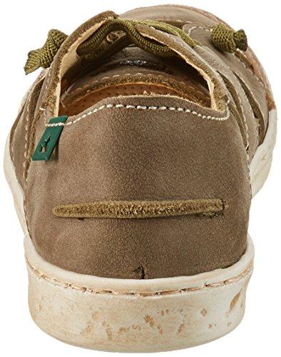 El Naturalista Kids ElNaturalistaKids Unisex-Kinder E377 Sneakers Grün (Kaki)