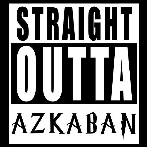 HARRY POTTER STRAIGHT OUT OF AZKABAN LOGO WARHAMMER VINYL STICKERS SYMBOL 5.5