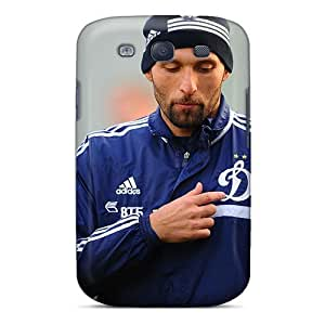 LJF phone case Fashion Protective Dynamo Goalkeeper Vladimir Gabulov Case Cover For Galaxy S3