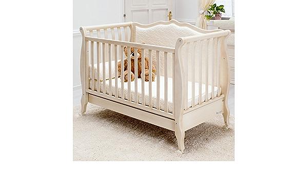Cama de bebé especial 63 x 123 cm, con respaldo acolchado ...