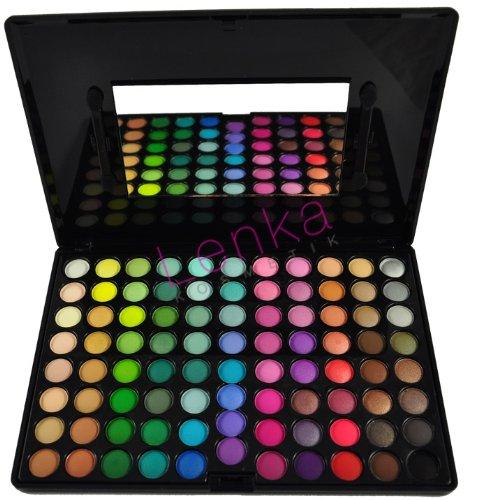 88 Professionelle Lidschatten Palette Lidschattenpalette eyeshadow Makeup Make-Up Set Kosmetik mit Spiegel Matt