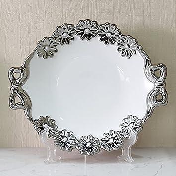 XYu0026GK Keramikschüsseln Continental Obstteller Ideen Wohnzimmer Tisch  Dekorationen Ornamente, Machen Ihr Haus Attraktiv