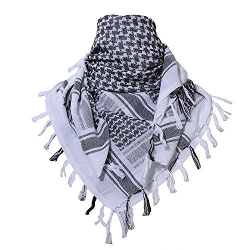 Unisex Arab Shemagh KeffIyeh Shawl Scarf - 3