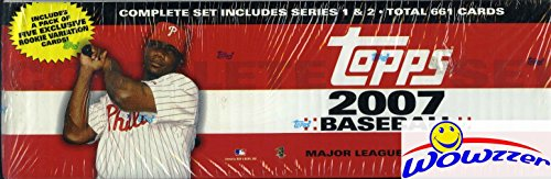 2007 Topps MLB Baseball MASSIVE EXCLUSIVE Complete 666 Ca...